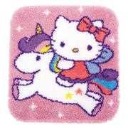 Vervaco Kitty and Unicorn Latch Hook