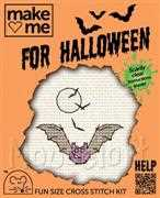 Mouseloft Halloween Bat Cross Stitch Kit