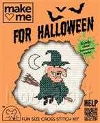 Mouseloft Broomstick Witch Cross Stitch Kit