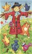 Scarecrow - Aida - Heritage Cross Stitch Kit