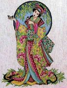Oriental Grace - Design Works Crafts Cross Stitch Kit