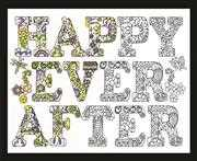 Zenbroidery - Happy Ever After - Design Works Crafts Embroidery Fabric