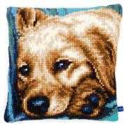Dog Cushion - Vervaco Cross Stitch Kit