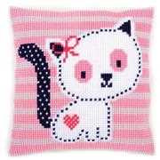 Kitten Cushion - Vervaco Cross Stitch Kit
