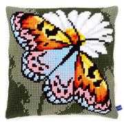 Vervaco Butterfly Cushion Cross Stitch Kit