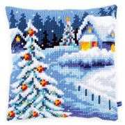 Vervaco Winter Scenery Cushion Christmas Cross Stitch Kit