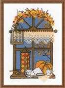 RIOLIS Autumn Window Cross Stitch Kit