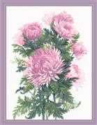 RIOLIS Bouquet of Chrysanthemums Cross Stitch Kit