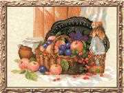RIOLIS Summer Abundance Cross Stitch Kit