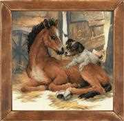 RIOLIS Foal and Puppy Cross Stitch Kit