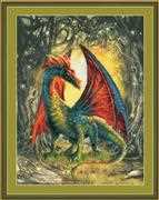 RIOLIS Forest Dragon Cross Stitch Kit