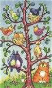 Bird Watching - Evenweave - Heritage Cross Stitch Kit