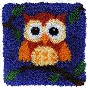 Baby Owl - Needleart World Latch Hook Kit