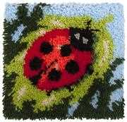 Needleart World Ladybird Latch Hook Kit