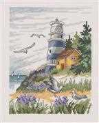 Lighthouse - Permin Cross Stitch Kit