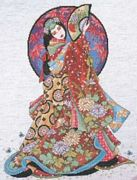 Oriental Wisdom - Design Works Crafts Cross Stitch Kit