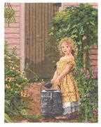 Janlynn The Gardener's Daughter Cross Stitch Kit