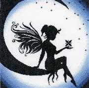 Fairy on the Moon - Lanarte Cross Stitch Kit