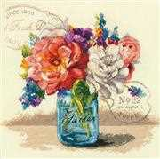 Dimensions Garden Bouquet Cross Stitch Kit