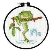 Hanging In - Dimensions Cross Stitch Kit