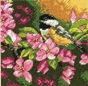 Dimensions Chickadee in Pink Tapestry Kit