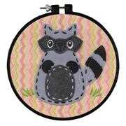 Dimensions Little Racoon Craft Kit