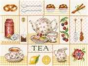 Lanarte Tea Party Cross Stitch Kit