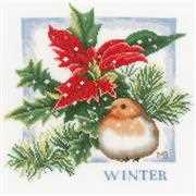 Winter - Lanarte Cross Stitch Kit