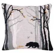 Bruno Cushion - Vervaco Long Stitch Kit