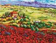 Tuscan Poppies - Dimensions Tapestry Kit