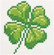 Needleart World Four Leaf Clover Diamond Dotz Craft Kit