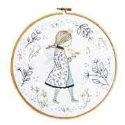 Winter Fairy - DMC Embroidery Kit