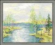 RIOLIS Estuary Cross Stitch Kit