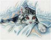 Cat Comfort - Dimensions Cross Stitch Kit