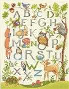 Dimensions Woodland Alphabet Cross Stitch Kit