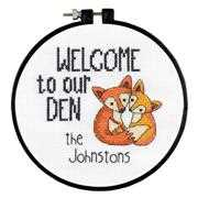 Our Den - Dimensions Cross Stitch Kit