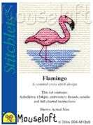 Mouseloft Flamingo Cross Stitch Kit