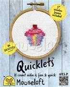Quicklets - Cupcake - Mouseloft Cross Stitch Kit