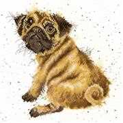 Pug - Bothy Threads Cross Stitch Kit