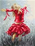 Dancing in the Field - Luca-S Cross Stitch Kit