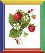 RIOLIS Wild Strawberry Cross Stitch Kit