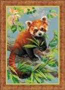 RIOLIS Red Panda Cross Stitch Kit