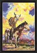 Native American Sunset - Design Works Crafts Cross Stitch Kit