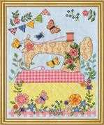 Design Works Crafts Sewing Machine Cross Stitch Kit