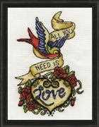 Design Works Crafts Tattoo Cross Stitch Kit