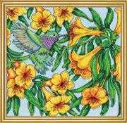 Design Works Crafts Hummingbird Cross Stitch Kit