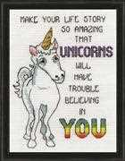 Unicorns - Design Works Crafts Cross Stitch Kit