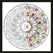 Zenbroidery - Sewing Mandala - Design Works Crafts Embroidery Fabric