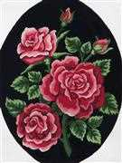 Red Rose Bouquet - Grafitec Tapestry Canvas