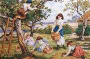 Orchard Days - Grafitec Tapestry Canvas